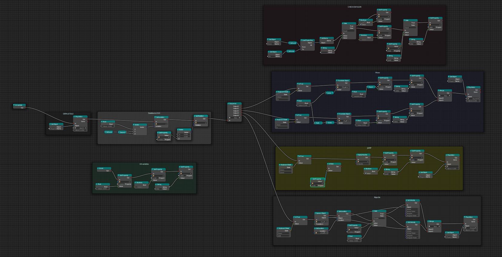 Building a side scroller platform game - General - Armory 3D