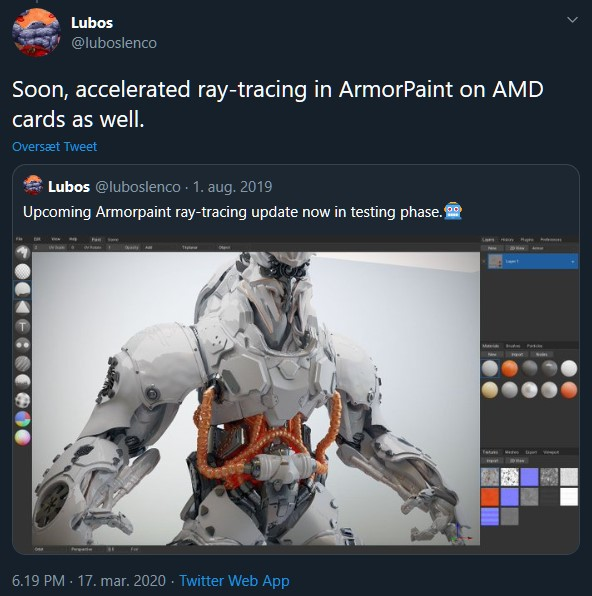 Raytracing AMD Cards