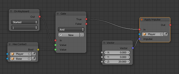 SOLVED] Jumping/Impulse with momentum using nodes - Logic