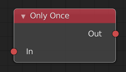 onlyOnceNode